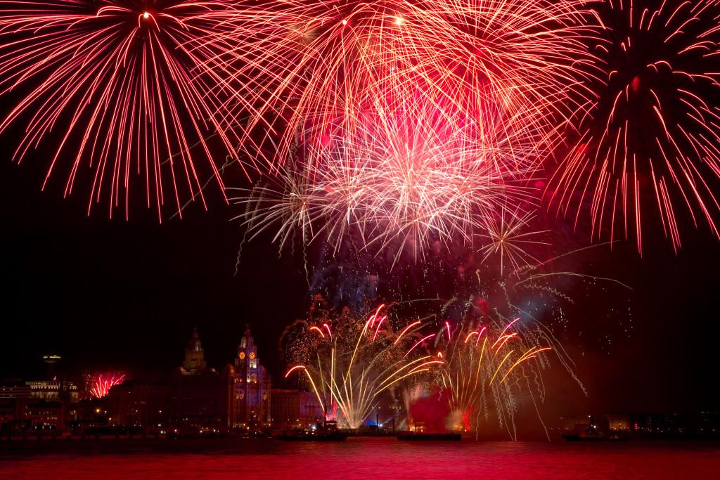 Liverpool ECOC Fireworks