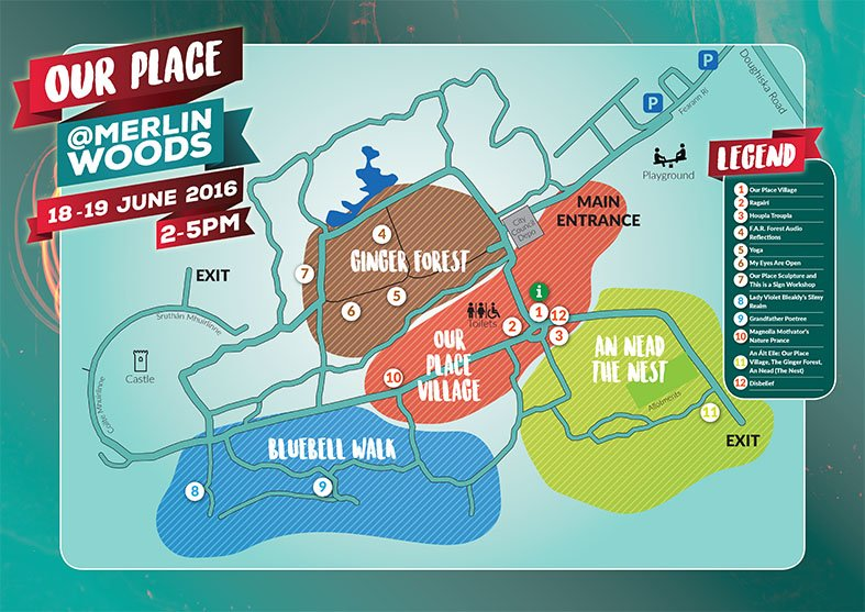 A3 festival map