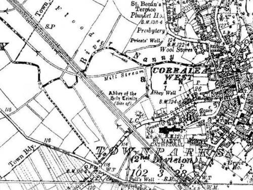 Map of Tuam